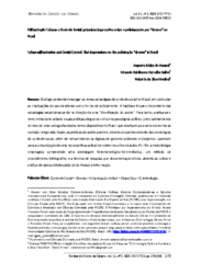 Militarização Urbana e Controle Social_ Primeiras impressões sobre o policiamento por drones no Brasil